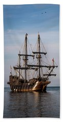 Beach Sheet featuring the photograph El Galeon Andalucia by Dale Kincaid