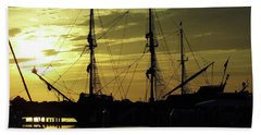 El Galeon Sunrise Beach Sheet by D Hackett
