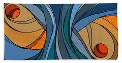 el MariAbelon blue Beach Sheet
