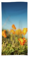 El Paso Poppies Beach Towel