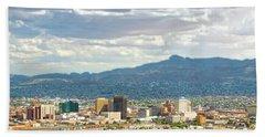 El Paso Texas Downtown View Beach Towel