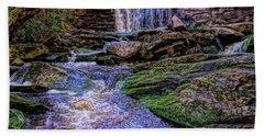 Elakala Falls Hdr Beach Towel