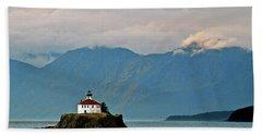 Eldred Rock Lighthouse Skagway Beach Towel