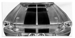 Eleanor Ford Mustang Beach Towel