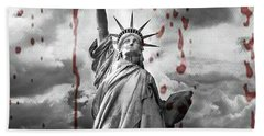 Election Results Beach Towel