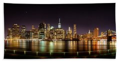Electric City Beach Towel by Az Jackson