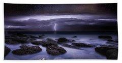 Electric Dreams Beach Towel