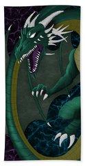 Electric Portal Dragon Beach Towel