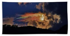 Beach Towel featuring the photograph Electric Rainbow by Craig Wood