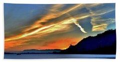 Electric Sunrise Beach Sheet