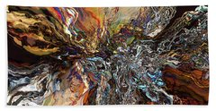 Electrical Storm Beach Towel by Phil Perkins