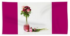 Beach Towel featuring the photograph Elegance by Wendy Wilton