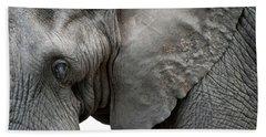 Elephant 2 Beach Towel