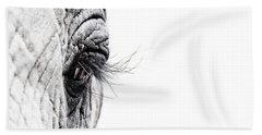 Elephant Eye Beach Towel