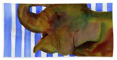 Elephant Joy Beach Towel