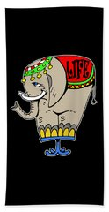Elephant Life  Beach Towel