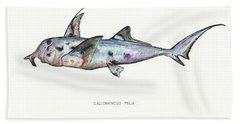 Elephant Shark Beach Towel