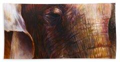 Elephant Empathy Beach Towel
