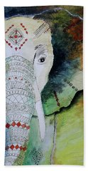 Elephantastic Beach Towel