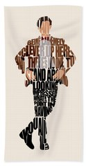 Eleventh Doctor - Doctor Who Beach Towel