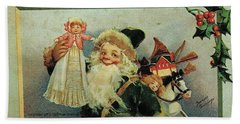 Elf Christmas Beach Sheet