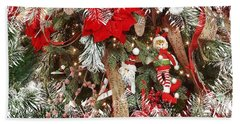 Elf In A Tree Beach Towel