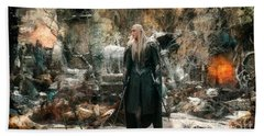 Elf King Thranduil  Beach Towel