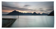 Elgol At Sunset Beach Towel