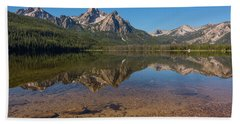 Elk Mountain Reflections Beach Sheet
