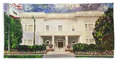 Alameda Elks, Lodge #1015 Beach Towel by Linda Weinstock