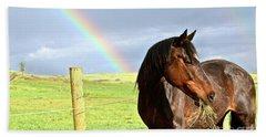 Ella And The Rainbows Beach Sheet