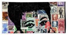Lady Ella Fitzgerald Beach Sheet by Everett Spruill