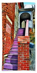 Ellicott City Steps Beach Towel