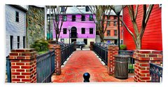 Ellicott City Walkway Beach Towel