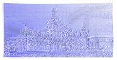 Ellis Island No. 49-2 Beach Towel by Sandy Taylor