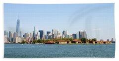 Ellis Island New York City Beach Towel
