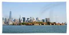 Ellis Island New York City Beach Sheet