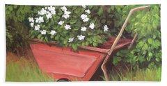 Eloise's Garden Cart Beach Sheet