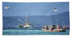 Beach Towel featuring the photograph Elora Jane by Randy Hall