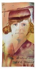 Elsie Circa 1915 Beach Towel