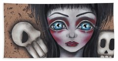 Elvira Beach Towel by Abril Andrade Griffith
