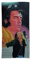 Elvis And Jon Beach Towel