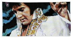 Elvis - How Great Thou Art Beach Towel
