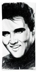 Elvis Presley Beach Towels