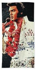 Elvis Presley Beach Towel