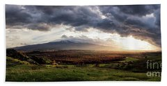 Elysium Beach Towel by Giuseppe Torre