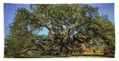Emancipation Oak Tree Beach Towel