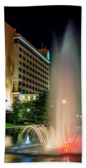 Beach Towel featuring the photograph Embassy Suites Huntsville by David Morefield