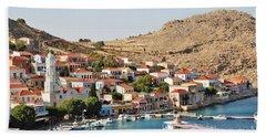 Emborio Village On Halki Beach Towel
