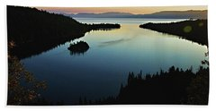 Emerald Bay, Lake Tahoe, Dawn Beach Towel